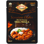Patak's Signature Dishes Rich & Creamy Tikka Masala 250g