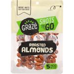 Graze Shots To Go Roasted Almonds 5pk