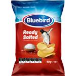 Bluebird Ready Salted Original Cut Potato Chips 40g