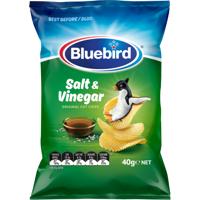 Bluebird Salt & Vinegar Original Cut Potato Chips 40g