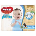 Huggies Ultimate Nappy Pants Boys 10-15kg Toddler 31ea