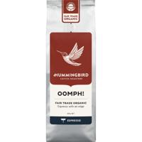 Hummingbird Oomph! Coffee Fair Trade Organic Espresso Coffee 200g