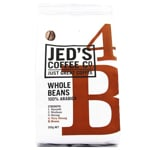 Jed's Coffee Co. Strength 4 Very Strong 100% Arabica Whole Coffee Beans 200g