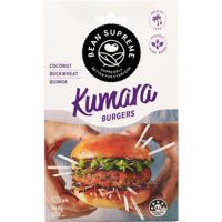 Bean Supreme Kumara Burgers 340g