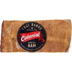 Colonial Free Range Boneless Loin Skinless Ham 600g