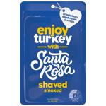Santa Rosa Shaved Smoked Turkey 100g