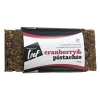 Loaf Cranberry & Pistachio Bar 300g