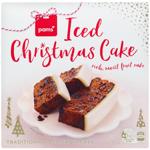 Pams Iced Christmas Cake 1kg