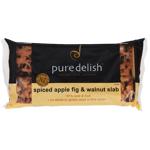 Pure Delish Spiced Apple Fig & Walnut Slab 450g