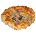 Bakery Mini Vegetable Ciabatta Pizza Bread 1ea
