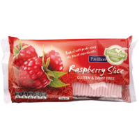Pavillion Gluten Free Raspberry Slice 330g