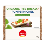 Pema Pumpernickel Rye Bread 500g