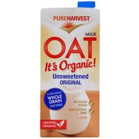 Pure Harvest Unsweetened Oat Milk 1l