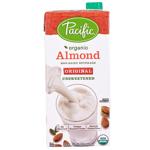 Pacific Organic Almond Non Dairy Original Unsweetened Beverage 946ml