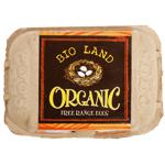 BIO Land Organic Free Range Eggs 6ea
