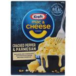 Kraft Cracked Pepper & Parmesan Mac & Cheese Dinner 400g
