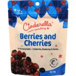 Cinderella Cherries And Berries 150g