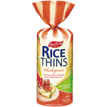 Real Foods Wholegrain Rice Thins 150g