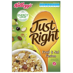 Kellogg's Just Right Sultana & Almond Breakfast Cereal 480g
