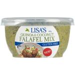 Lisa's Quinoa & Coconut Falafel Mix 400g