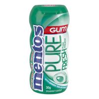 Mentos Pure Fresh Spearmint Gum 30g