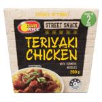 SunRice Street Snack Teriyaki Chicken With Turmeric Noodles 200g