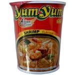 Yum Yum Instant Noodle Cups Shrimp Flavour 70g