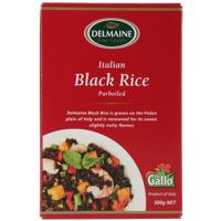 Delmaine Italian Parboiled Black Rice 500g