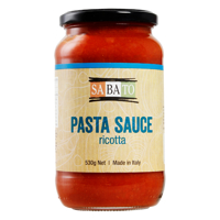 Sabato Ricotta Pasta Sauce 560g