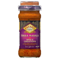 Patak's Spice Creations Tikka Masala Simmer Sauce 360g