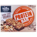 Tasti Protein Bar Dark Choc Orange Bars 5pk