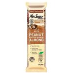 Well Naturally No Sugar Added Peanut Puffed Quinoa Almond Bar 35g