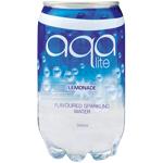 Aqa Lite Lemonade Flavoured Sparkling Water 350ml