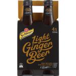 Schweppes Light Ginger Beer 4pk
