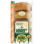 Vogel's Gluten Free Dairy Free Gourmet White Buns 5ea