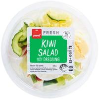 Pams Kiwi Salad With Dressing 120g
