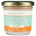 Genevieve's Orange Duck Liver Parafait 100g