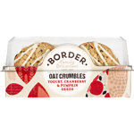 Border Biscuits Yogurt Cranberry & Pumpkin Seeds Oat Crumbles 175g