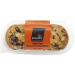 Bakeworks Gluten Free Orange Choc Chip Muffins 2ea