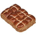 Bakery Fruitless Hot Cross Buns 6ea