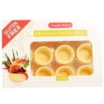 Lincoln Bakery Gluten Free Neutral Pastry Shells 12ea