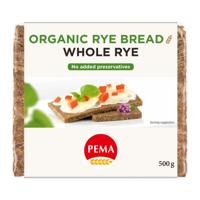 Pema Whole Rye Bread 500g