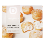 Van Diermen Mini Vanilla Cream Puffs 250g