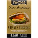 Top Notch Pure Decadence Chicken Burgers 456g