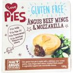 I Love Pies Gluten Free Angus Beef Mince & Mozzarella Pie 180g