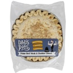 Dad's Pies Premium Beef Steak & Cheddar Cheese Family Pie 900g