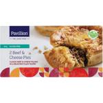 Pavillion Gluten Free Beef & Cheese Pies 360g