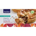 Pavillion Gluten Free Beef & Gravy Pies 360g