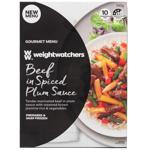Weight Watchers Gourmet Menu Beef In Spiced Plum Sauce 340g