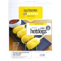 GFTreets Mini Hot Dogs Gluten Free 360g